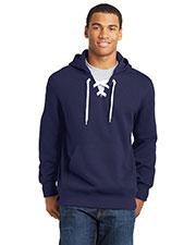 Sport-Tek® ST271 Men Lace Up Pullover Hooded Sweatshirt at GotApparel