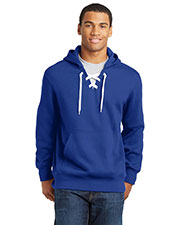 Sport-Tek ST271 Men Lace Up Pullover Hooded Sweatshirt at GotApparel