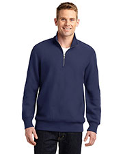 Sport-Tek® ST283 Men Super Heavyweight 1/4-Zip Pullover Sweatshirt at GotApparel