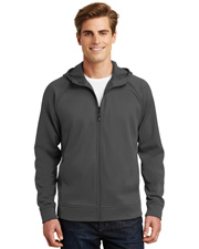 Sport-Tek® ST295 Men   Rival Tech Fleece Full-Zip Hooded Jacket at GotApparel