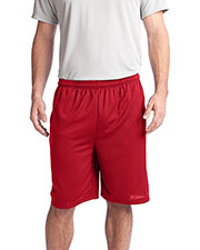 Sport-Tek ST312 Men PosiCharge™ Tough Mesh Pocket Short at GotApparel