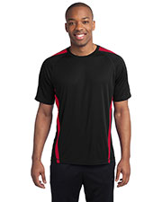 Sport-Tek TST351 Men Tall Colorblock PosiCharge® Competitor™ Tee at GotApparel