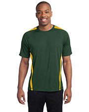 Sport-Tek ST351 Men Colorblock PosiCharge™ Competitor™ Tee at GotApparel