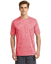 Sport-Tek® ST390 Men   PosiCharge®  Electric Heather Tee at GotApparel