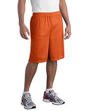 Sport-Tek ST515 Men Long PosiCharge Classic Mesh Short at GotApparel