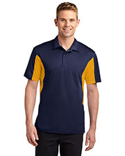 Sport-Tek ST655 Men Side Blocked Micropique Sport-Wick Polo at GotApparel
