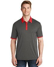 Sport-Tek® ST667 Men Heather Contender™ Contrast Polo  Touch™ at GotApparel