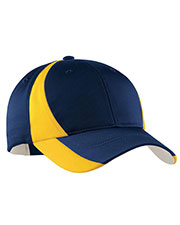 Sport-Tek YSTC11 Kids Dry Zone Nylon Colorblock Cap at GotApparel