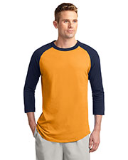 Sport-Tek® T200 Men Colorblock Raglan Jersey at GotApparel