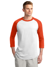 Sport-Tek T200 Adult Colorblock Raglan Jersey at GotApparel