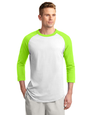 Sport-Tek® T200 Men Colorblock Raglan Jersey at GotApparel