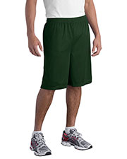 Sport-Tek T515 Men Long Mesh Shorts at GotApparel