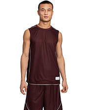Sport-Tek T555 Men PosiCharge Mesh Reversible Sleeveless Tee at GotApparel