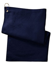 Anvil T68GH Unisex Deluxe Hemmed Hand Towel With Corner Grommet and Hook at GotApparel