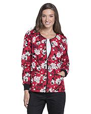 Tooniforms TF303 Women Zip Front Warm-Up Jacket  at GotApparel
