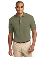 Port Authority TLK420 Men's Tall Heavyweight Cotton Pique Polo at GotApparel