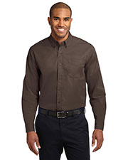 Port Authority TLS608 Men Tall Long-Sleeve Easy Care Shirt at GotApparel