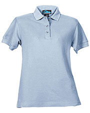 Tri-Mountain 166 Women Autograph Cotton Pique Short Sleeve Golf Shirt at GotApparel