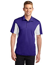 Sport-Tek® TST655 Men Tall Side Blocked Micro Pique Sportwick Polo at GotApparel