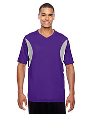 Team 365 TT10 Men Short-Sleeve Athletic V-Neck All Sport Jersey at GotApparel