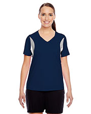 Team 365 TT10W Women short sleeve VNeck All Sport Jersey at GotApparel