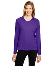Team 365 TT11WL Women Zone Performance Long-Sleeve T-Shirt at GotApparel