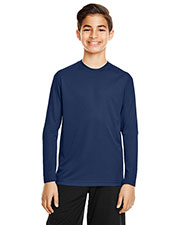 Team 365 TT11YL Boys Zone Performance Long-Sleeve T-Shirt at GotApparel