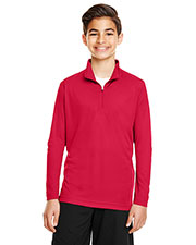 Team 365 Tt31y  Youth Zone Performance Quarter-Zip at GotApparel