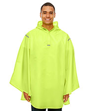 Team 365 Tt71  Stadium Packable Poncho at GotApparel