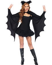 Halloween Costumes UA2146 Women Shrug Cozy Bat Wings W/Ears at GotApparel