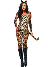Halloween Costumes UA83666ML Women Cougar Medium/Large at GotApparel