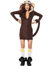 Halloween Costumes UA85309LG Women Cozy Monkey Large at GotApparel