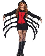 Halloween Costumes UA85558LG Women Spider Black Widow Cozy Ad Lg at GotApparel