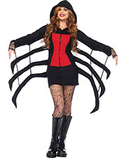 Halloween Costumes UA85558MD Women Spider Black Widow Cozy Ad Med at GotApparel