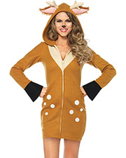 Halloween Costumes UA85587MD Women Fawn Cozy Medium at GotApparel