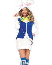 Halloween Costumes UA85591MD Women Rabbit White Cozy Medium at GotApparel