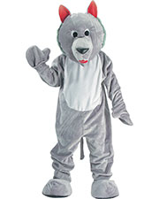 Halloween Costumes UP301 Boys Wolf Mascot Grey One Sz. at GotApparel