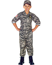 Halloween Costumes UR26200SM Boys U.S. Army Camo Set Child (4-6) at GotApparel