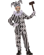 Halloween Costumes UR26272LG Boys Evil Harlequin No Mask Child L at GotApparel