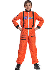 Halloween Costumes UR26981SM Boys Astronaut Orange Child 4-6 at GotApparel