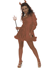 Halloween Costumes UR28118SM Women Red Hot Small at GotApparel