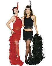 Halloween Costumes UR28122RDLG Women Flapper Sexy Red Large at GotApparel