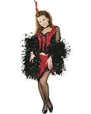Halloween Costumes UR28170MD Women Saloon Lady Medium at GotApparel