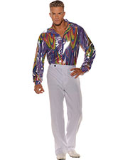 Halloween Costumes UR28595  DISCO SHIRT ADULT STD at GotApparel
