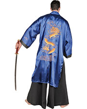 Halloween Costumes UR28655 Men Samurai Blue One Size at GotApparel