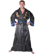 Halloween Costumes UR28656BK Men Samurai Black One Size at GotApparel