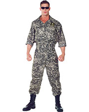 Halloween Costumes UR29390XXL Men Us Army Jumpsuit Xxl 44-46 at GotApparel