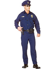 Halloween Costumes UR29433XXL Men Police Officer Xxl 48-50 at GotApparel