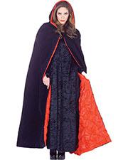 Halloween Costumes UR29461 Women Cape Deluxe Hooded Velvet 63in at GotApparel