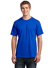 Port & Company USA100P Men AllAmerican Tee with Pocket at GotApparel